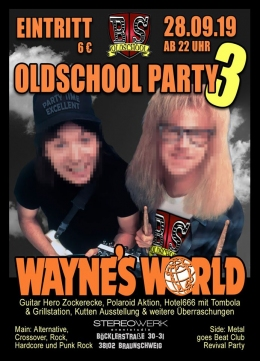 3. Oldschool Party - Wayne's World