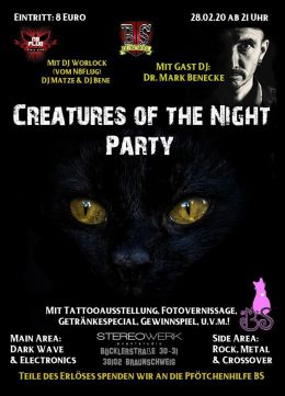 Creatures of the Night Party
